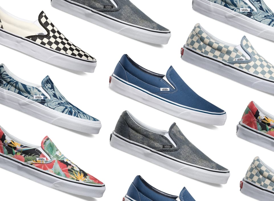 Best Slip On Vans for Men 2016 Spring-Summer