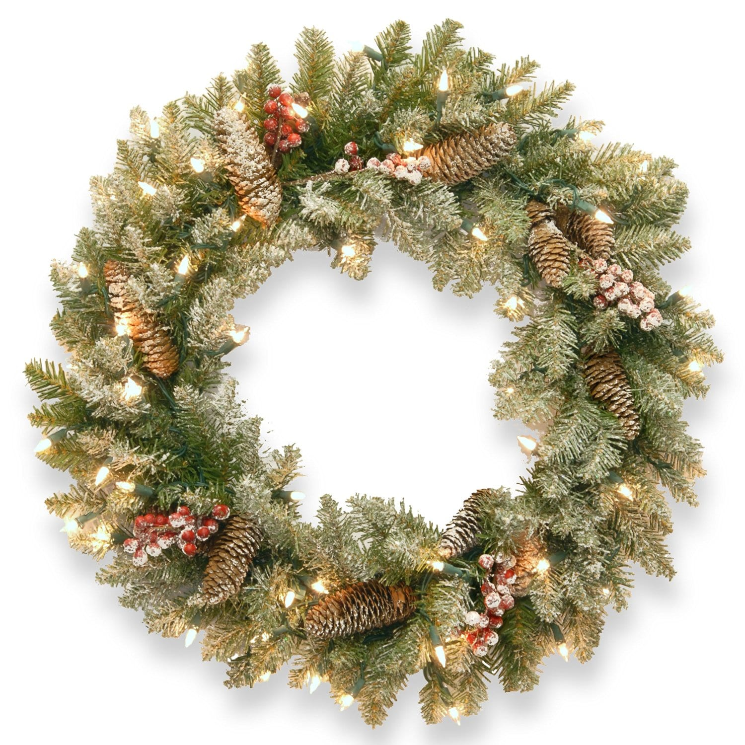 best artificial christmas wreath of 2018 national tree 24 dunhill fir buy it here for 40
