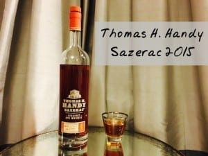 Rye Thoughts: 2015 Thomas H. Handy Sazerac